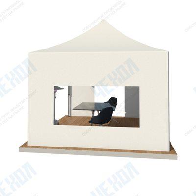 Стенка с окном для шатра, 6 х 2,15 м (Оксфорд 600d, 260 г / м2)