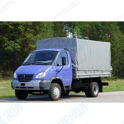 Тент автомобильный на ГАЗ 33104 (Валдай) односторонняя усиленная ткань