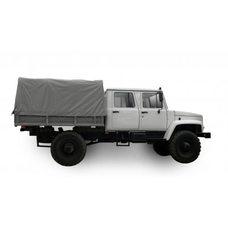 Тент автомобильный на ГАЗ 33081 (Егерь) двухсторонняя импортная ткань