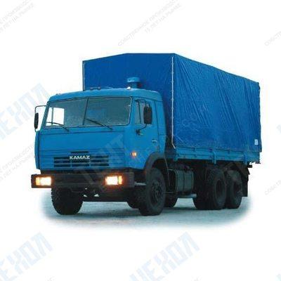 Тент автомобильный на КАМАЗ 53201 (высокий)