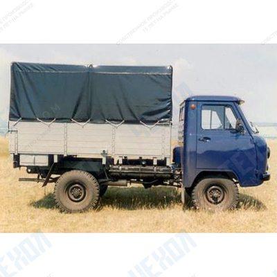 Тент автомобильный на УАЗ 3303 односторонняя усиленная ткань