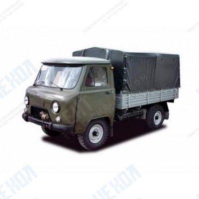 Тент автомобильный на УАЗ 33036 односторонняя усиленная ткань