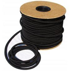 Шнур-резинка (эспандер) 8мм черный шэ
