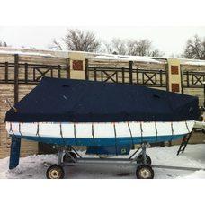 Тент для зимнего хранения яхты