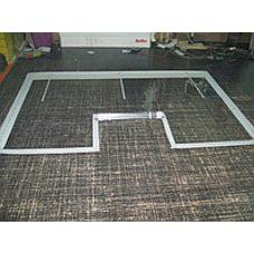 Изготовление витрины из ПВХ для торговой палатки