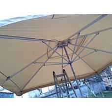 Пошив тента из ткани на зонт