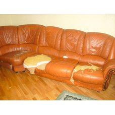 Ремонт чехлов дивана (перетяжка мебели)