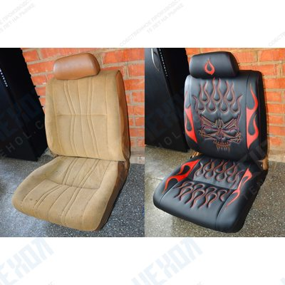 Ремонт чехлов сидений автомобиля