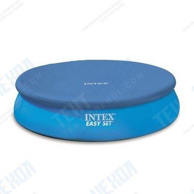 Тент на круглый надувной бассейн 244 см intex 28020