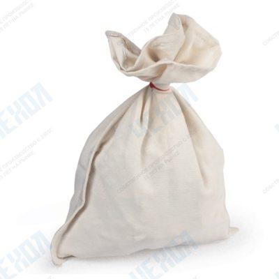 Мешок размер 35*38см с завязкой (ткань бязь суровая)