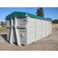 Тент - полог пвх для мусорных контейнеров 36м3