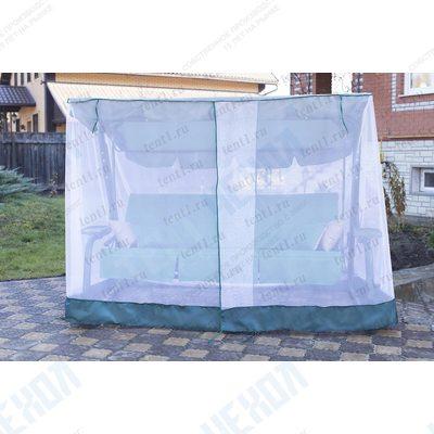 Москитная сетка для садовых качелей (универсальная) с прямой крышей