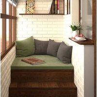 Матрас-подушка для балкона