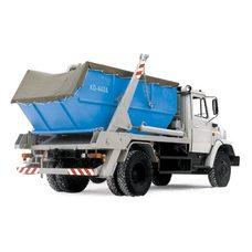 Тент - полог пвх для мусорных контейнеров 8м3