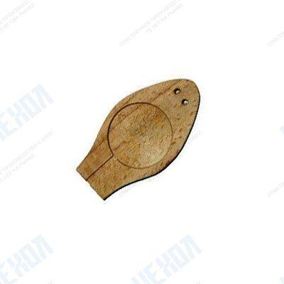 Плашка для опечатывания деревянная на 1 печать