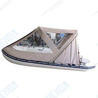 Тент базовый для лодки forward/suzumar 320, цвет серый