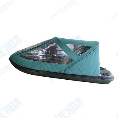Тент базовый для лодки forward/suzumar 360, цвет зеленый