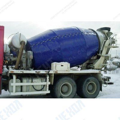 Чехол на бетоносмеситель, (миксер), бетономешалку с утеплителем